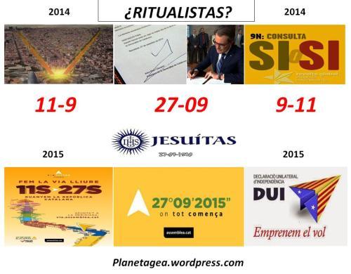 cataluña jesuitas cabala 11-9; 27-09;9-11