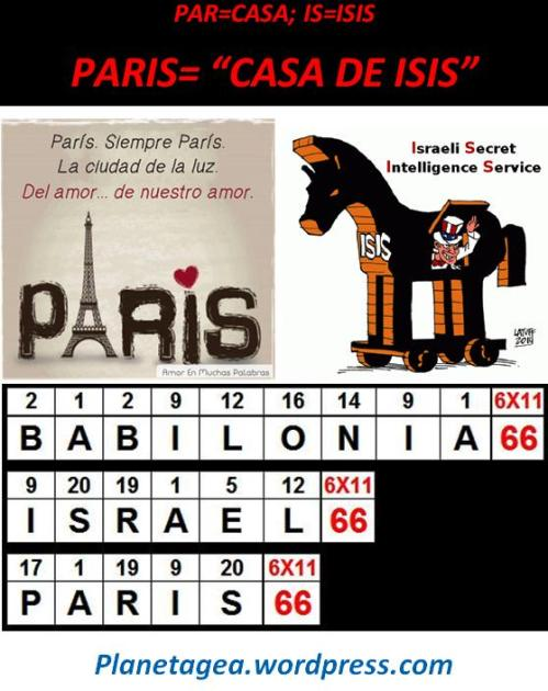 PARIS=CASA DE ISIS 66 ISRAEL Y BABILONIA