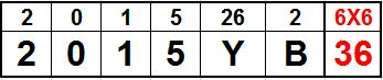2015YB ASTEROIDE GEMATRIA 36 PAPA 666