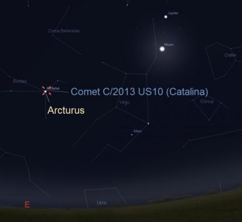 CometCatalinaJan12016-From-2amToSunriseVeryCloseToArcturus-e1447082126941