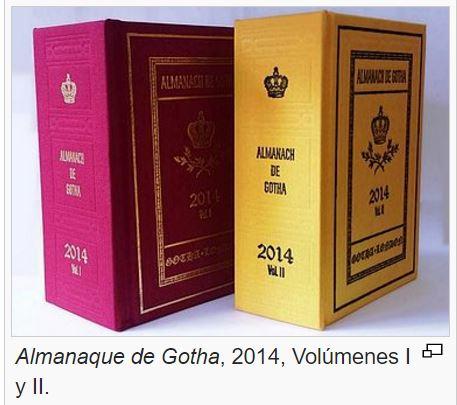 almanaque gotha 2014