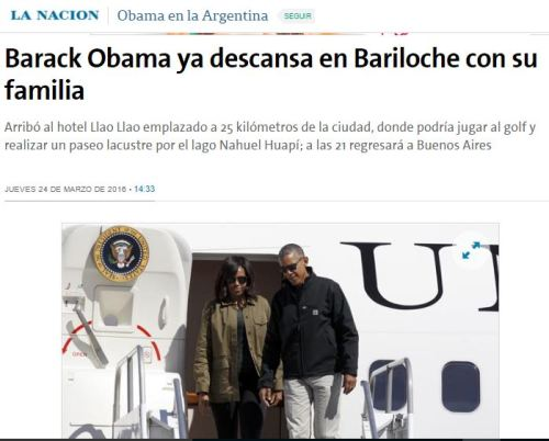 bariloche obama purim