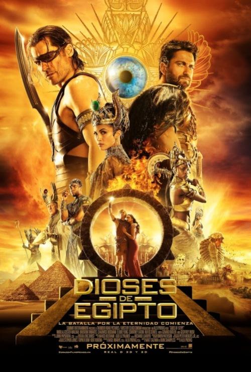 dioses de egipto poster final