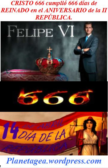 FELIPE VI CUMPLIO 666 DIAS REINADO EN ANIVERSARIO II REPUBLICA.