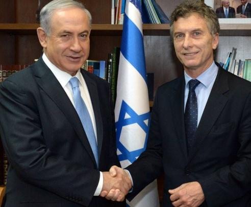 Netanyahu y Macri