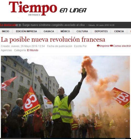 nueva revolución francesa 2016
