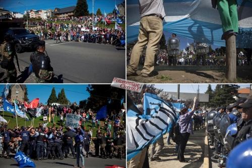 obama en argentina protesta en bariloche 02