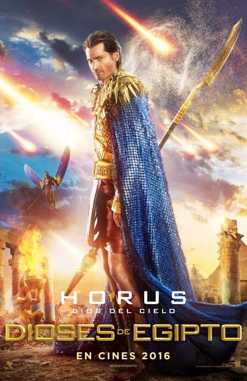 poster dioses de egipto horus