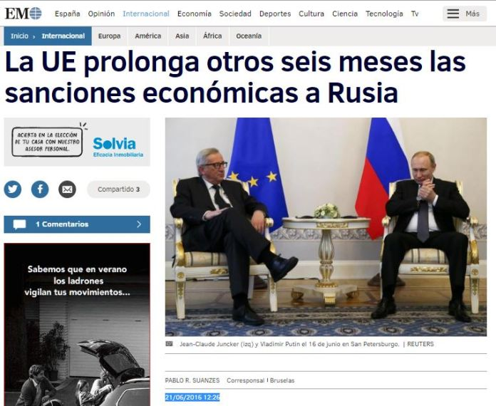 21-06-6x6x6 ue incrementa sanciones 6 meses rusia