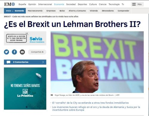 brexit lehman brothers