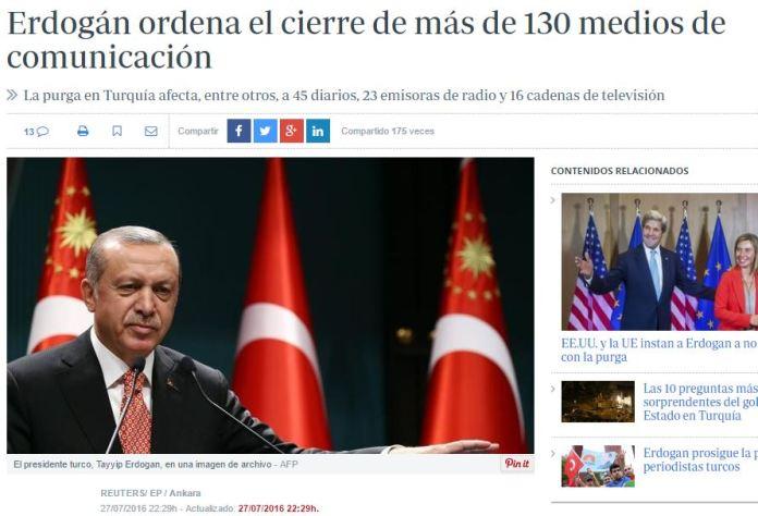 erdogan cierre medios
