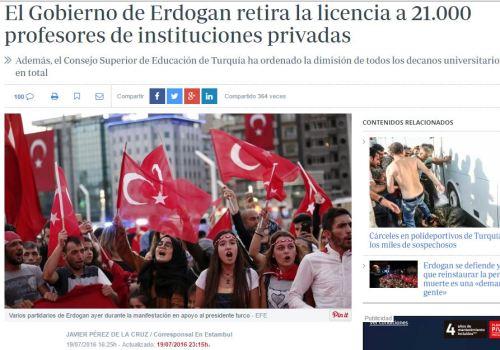 erdogan profesores