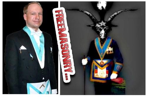 Freemasonry Behring Bafhomet satánico