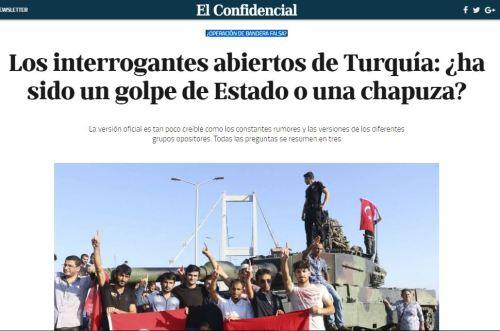 golpe turquia falsa bandera