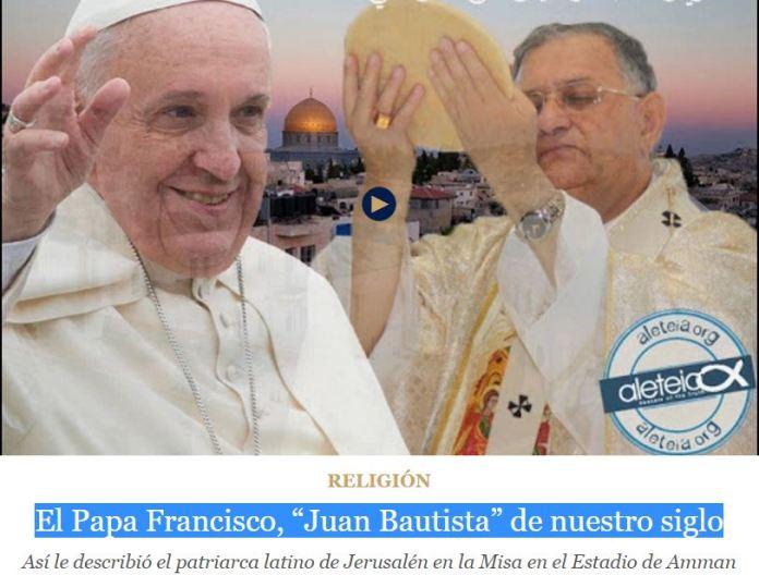 PAPA FRANCISCO JUAN BAUTISTA