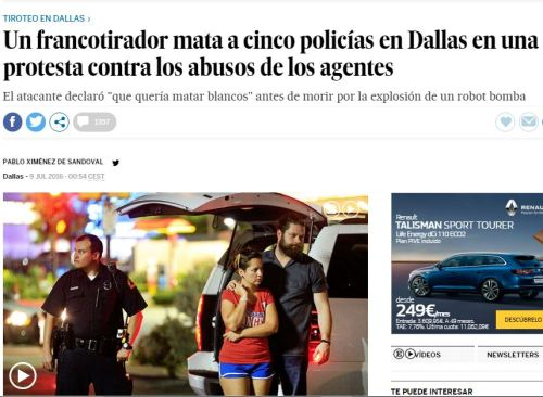 policias dallas