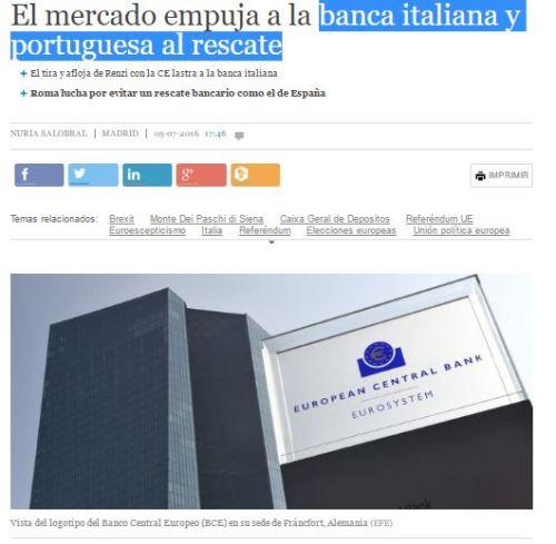 rescate banca italiana