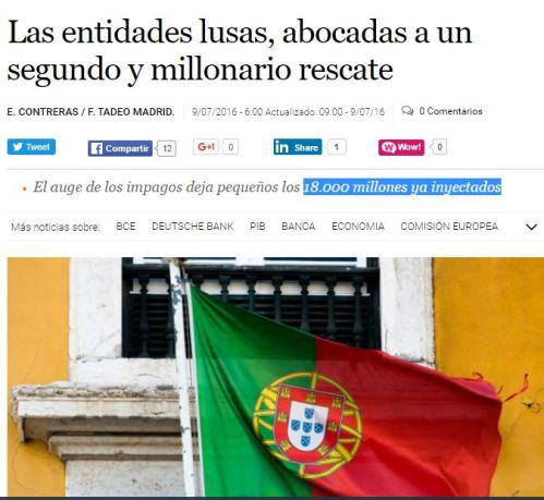 segundo rescate portugal