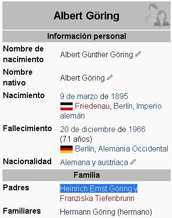albert goering padre