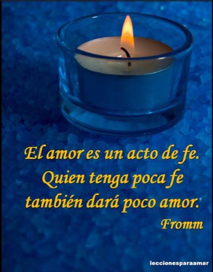 amor acto de fe