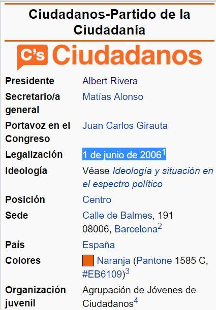 ciudadanos 1 de junio 2006