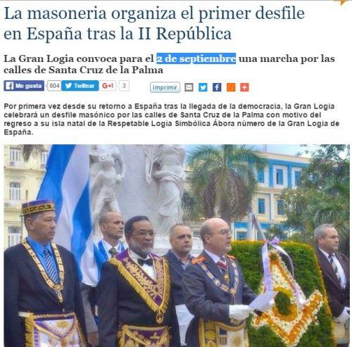 desfile masoneria palma 2 de septiembre