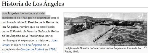 LOS ANGELES 44 ESPAÑOLES