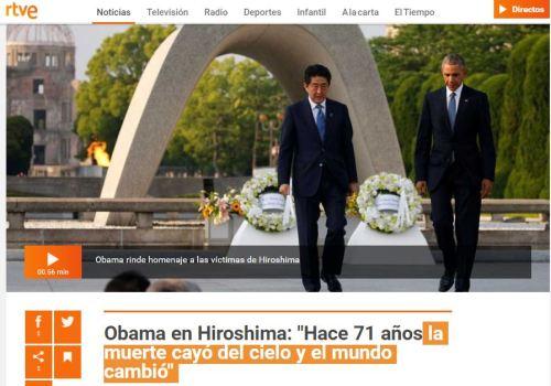 obama discurso hiroshima