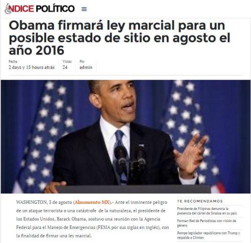 obama ley marcial