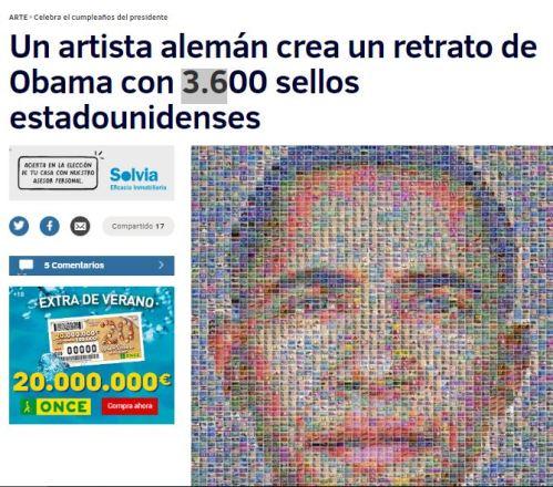 retrato obama 3600 sellos cumple