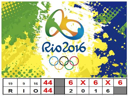 RIO 44 2016 6X6X6