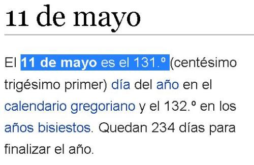 11 de mayo 131 merovingio