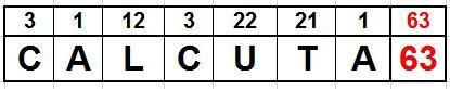 CALCUTA 63 2016 6X6X6 TERESA