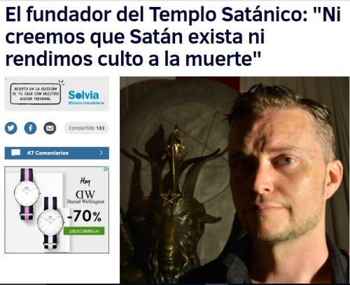 fundador templo satanico