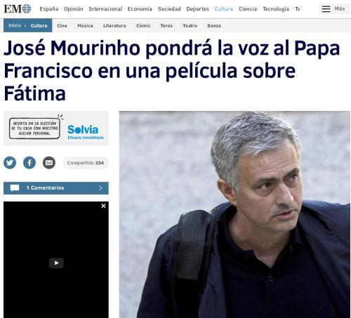 jose-mourinho-papa-francisco-fatima