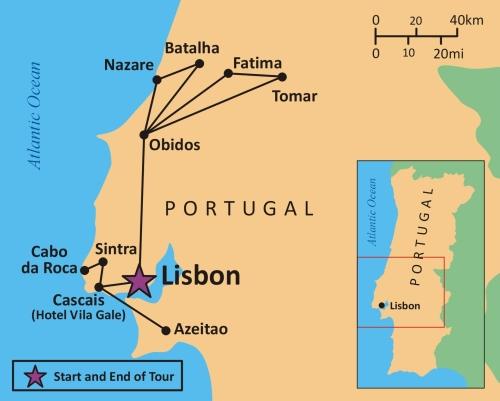 mapa_portugalii