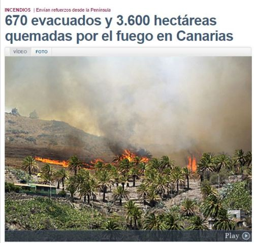 palma incendio 3600 hectareas