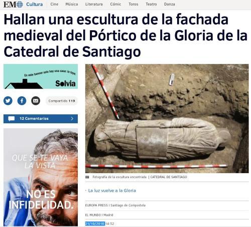 escultura-en-portico-gloria-santiago