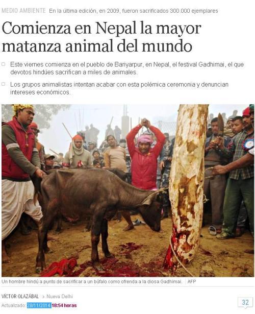 nepal-mayor-matanza-animal-planeta