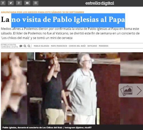no-visita-pablo-iglesias-papa