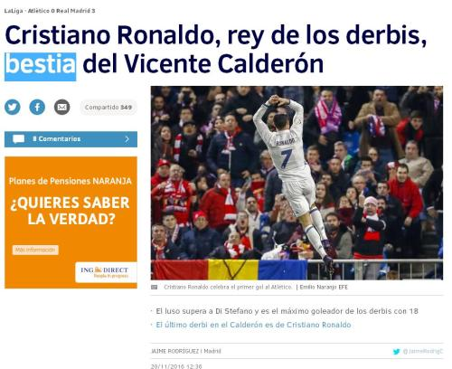 bestia-ronaldo-18-goles-derbis