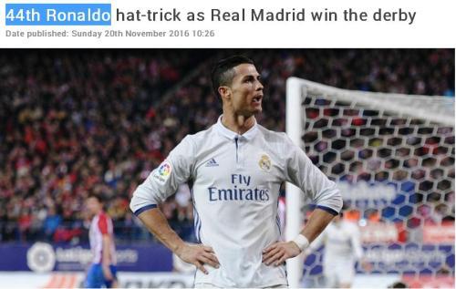 44-hat-trick-cristo