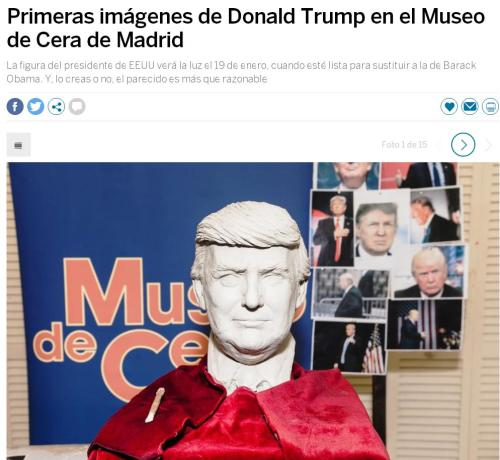 trump-museo-cera-madrid