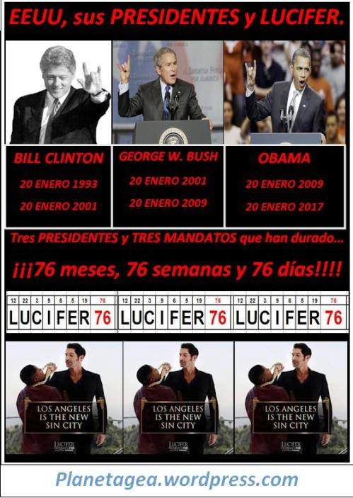 presidentes-eeuu-lucifer-mandato-76-76-76-obama-bush-y-clinton