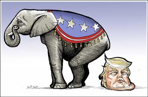 Cosas del elefante republicano