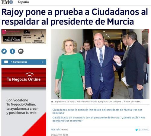 rajoy-ciudadanos-presidente-murcia-imputado