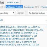 """PRIMER DÍA de los DIFUNTOS de la ERA de ACUARIO MUY PROLÍFICO y PREDICTIVO…/ El PRESIDENTE de ISRAEL en ESPAÑA en la SEMANA del """"DÍA del RECUERDO"""" / ¡¡El SALMO 46 de OBAMA en el DÉCIMO ANIVERSARIO del 11$ y el SHABAT del CORDERO JUDÍO y del PORTAL 11-11-10!!"""