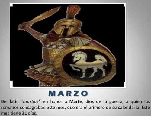 Mes de MARZO de IDUS y BACANALES, y de INICIO del AÑO ROMANO, del AÑO ASTROLÓGICO y de la SEMANA SANTA, y en dónde DESTACAN las SEMANAS 11, 12 y 13 del AÑO MAESTRO para los EVENTOS del AVISO y MILAGRO de GARABANDAL.